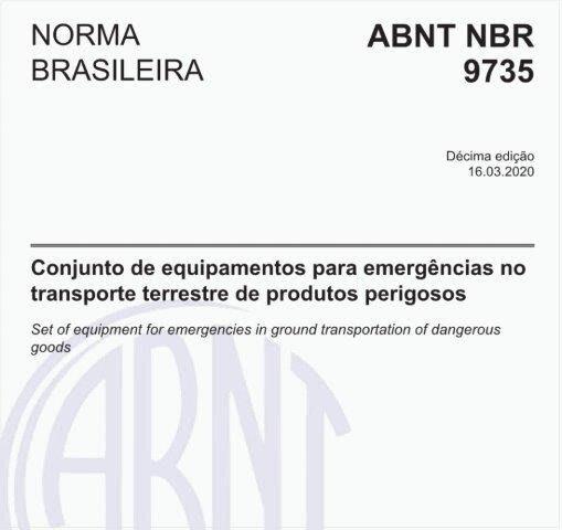 ABNT NBR 9735